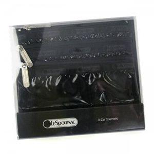 LESPORTSAC(レスポートサック) ポーチ ブラックパテント 6501 ブラック - 拡大画像