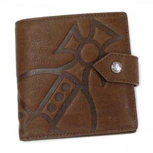 Vivienne Westwood(ヴィヴィアンウエストウッド) 二つ折り財布(小銭入れ付) MANGIANT ORB 2814 ライトブラウン - 拡大画像