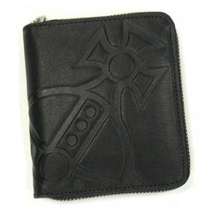 Vivienne Westwood(ヴィヴィアンウエストウッド) 二つ折り財布(小銭入れ付) MANGIANT ORB 5730 ブラック - 拡大画像