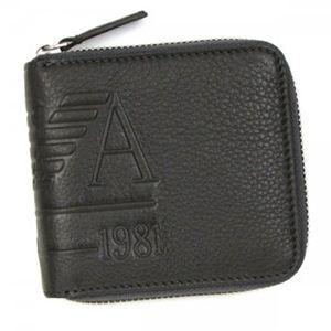 EMPORIO ARMANI(エンポリオアルマーニ) 二つ折り財布(小銭入れ付) LINEA ANGAR YEM475 80426 グレー
