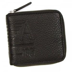 EMPORIO ARMANI(エンポリオアルマーニ) 二つ折り財布(小銭入れ付) LINEA ANGAR YEM475 80190 ダークブラウン