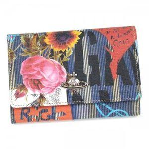 Vivienne Westwood(ヴィヴィアンウエストウッド) 二つ折り財布(小銭入れ付) ANARCHY 746V - 拡大画像