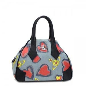 Vivienne Westwood(ヴィヴィアンウエストウッド) ハンドバッグ SECRET HEART 5880 ブルー