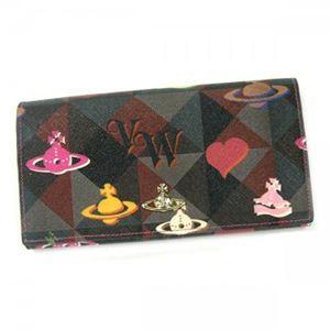 Vivienne Westwood(ヴィヴィアンウエストウッド) 長財布 ROPE ORB 32159 ピンク - 拡大画像