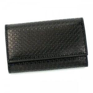 Ferragamo(フェラガモ) キーケース MENS SLG -MINIGANCIN 669146 498877 ブラック