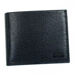 Ferragamo(フェラガモ) 二つ折り財布(小銭入れ付) MENS SLG -REVIVAL MU 667070 499152 グレー