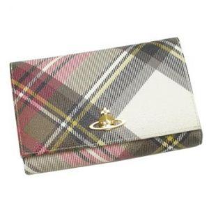 Vivienne Westwood(ヴィヴィアンウエストウッド) 二つ折り財布(小銭入れ付) DERBY 2232V EXHIBITION - 拡大画像