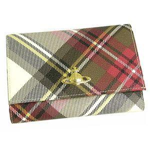 【2012年3月31日まで期間限定値下げ】Vivienne Westwood(ヴィヴィアン ウエストウッド) 二つ折り財布(小銭入れ付) DERBY 746 エキシビジョン - 拡大画像