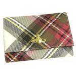 【2012年3月31日まで期間限定値下げ】Vivienne Westwood(ヴィヴィアン ウエストウッド) 二つ折り財布(小銭入れ付) DERBY 746 エキシビジョン