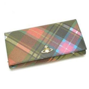 Vivienne Westwood(ヴィヴィアンウエストウッド) 長財布 DERBY 1032V H9.5×W19×D2.5