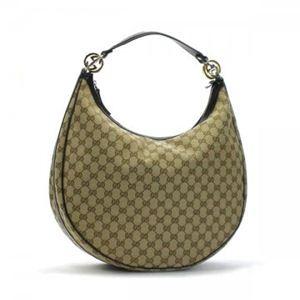Gucci(グッチ) ホーボー GG TWINS 232945 9643 ベージュ/ダークブラウン