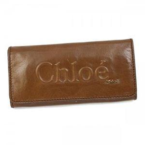 Chloe(クロエ) 長財布 SHADOW 3P0321 168 ライトブラウン - 拡大画像
