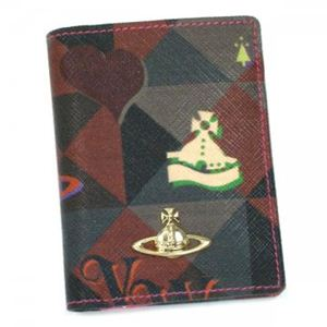 Vivienne Westwood(ヴィヴィアンウエストウッド) カードケース LOGOMANIA 32157 ピンク - 拡大画像