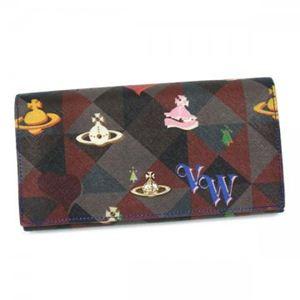 Vivienne Westwood(ヴィヴィアンウエストウッド) 長財布 LOGOMANIA 32159 ブルー