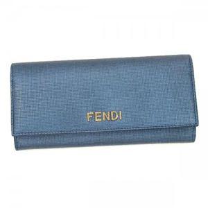 Fendi(フェンディ) 長財布 8M0251 UMC ライトブルー