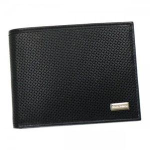 DOLCE&GABBANA(ドルチェアンドガッバーナ) 二つ折り財布(小銭入れ付) BP0457 80999 ブラック