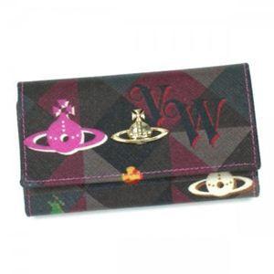 【期間延長 2012年6月30日まで期間限定値下げ】Vivienne Westwood(ヴィヴィアンウエストウッド) キーケース ROPE ORB 32156 ピンク