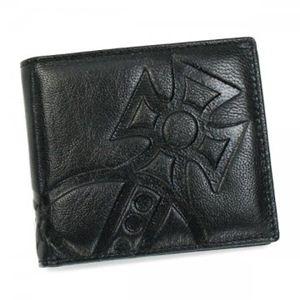 【2012年8月20日まで期間限定値下げ】 Vivienne Westwood(ヴィヴィアンウエストウッド) 二つ折り財布(小銭入れ付) GIANT ORB 1205 NERO - 拡大画像