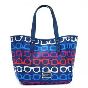 MARC BY MARC JACOBS(マークバイマークジェイコブス) トートバッグ STRIPEY TOTE WHAT A M3121031 647 ESTATE BLUE MULTI