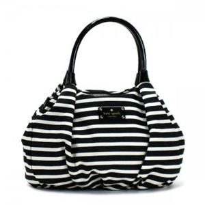 KATE SPADE(ケイトスペード) トートバッグ KATE SPADE NYLON STR PXRU3231 17 BLACKCREAM