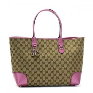 Gucci(グッチ) トートバッグ HEART BIT 269956 9799 B. EBONY/FRESIA ROSE - 拡大画像
