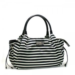 KATE SPADE(ケイトスペード) トートバッグ KATE SPADE NYLON STR PXRU3232 17 BLACK/CREAM