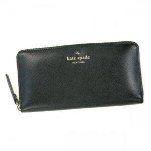 【2012年9月末まで期間限定値下げ】KATE SPADE(ケイトスペード) 長財布 MIKAS POND PWRU2076 1 BLACK - 拡大画像