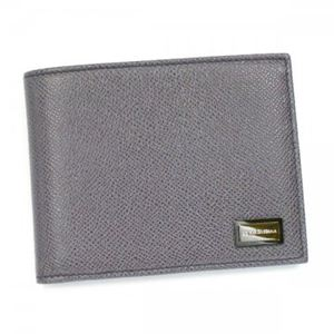 DOLCE&GABBANA(ドルチェアンドガッバーナ) 二つ折り財布(小銭入れ付) BP0457 80720 GRIGIO