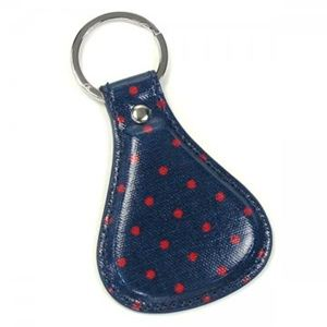 CATH KIDSTON(キャスキッドソン) キーホルダー FASHION 346917 NAVY AND RED
