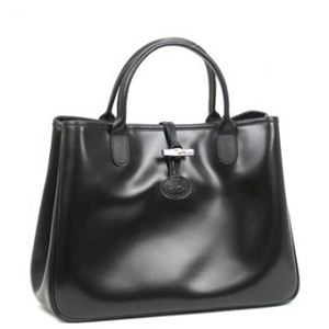 Longchamp(ロンシャン) ハンドバッグ ROSEAU 1686 1 NOIR
