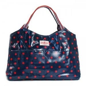 CATH KIDSTON(キャスキッドソン) トートバッグ FASHION 348386 NAVY AND RED