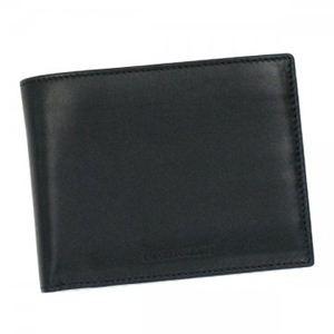EMPORIO ARMANI(エンポリオアルマーニ) 二つ折り財布(小銭入れ付) PICCOLA PELLETTERIA YEM078 NERO