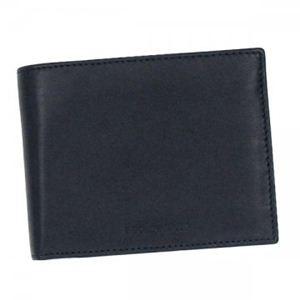 EMPORIO ARMANI(エンポリオアルマーニ) 二つ折り財布(小銭入れ付) PICCOLA PELLETTERIA YEM122 BLU