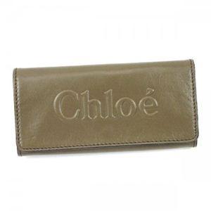 Chloe(クロエ) 長財布 SHADOW 3P0321 517 GREIGE - 拡大画像