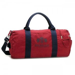 TOMMY HILFIGER(トミーヒルフィガー) ボストンバッグ CROWN CANVAS 6918142 600 RED - 拡大画像
