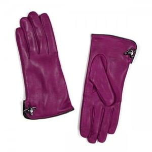 【2013年1月31日まで期間限定値下げ】Vivienne Westwood(ヴィヴィアンウエストウッド) 手袋 3401 FUXIA - 拡大画像