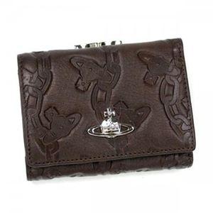 【2012年12月27日まで期間限定値下げ】Vivienne Westwood(ヴィヴィアンウエストウッド) 三つ折り財布(小銭入れ付) CHAIN ORB 1311V T.MORO - 拡大画像