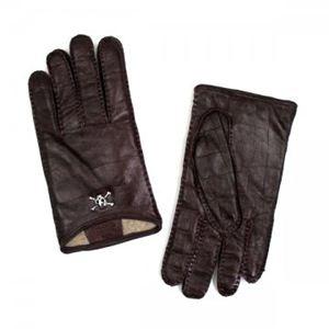 【2013年1月31日まで期間限定値下げ】Vivienne Westwood(ヴィヴィアンウエストウッド) 手袋 2078 BORDEAUX - 拡大画像
