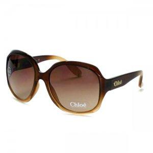 【2013年2月28日まで期間限定値下げ】Chloe(クロエ) サングラス/メガネ SUNGLASS CL2227 C02 BROWN - 拡大画像