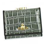 Vivienne Westwood(ヴィヴィアンウエストウッド) 三つ折り財布(小銭入れ付) CHANCERY 1311V OLIVE