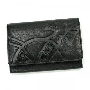 【2013年1月31日まで期間限定値下げ】Vivienne Westwood(ヴィヴィアンウエストウッド) 二つ折り財布(小銭入れ付) GIANT ORB 746V NERO