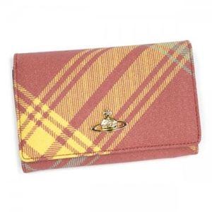 Vivienne Westwood(ヴィヴィアンウエストウッド) 二つ折り財布(小銭入れ付) DERBY 2232VV58 MAC YORK - 拡大画像