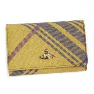 Vivienne Westwood(ヴィヴィアンウエストウッド) 二つ折り財布(小銭入れ付) DERBY 2232VV58 MAC CLARENCE - 拡大画像