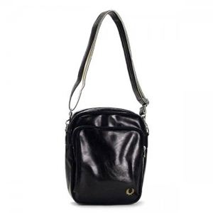 FRED PERRY(フレッドペリー) ナナメガケバッグ L1183 102 BLACK - 拡大画像
