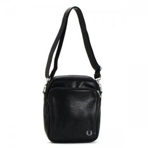 FRED PERRY(フレッドペリー) ナナメガケバッグ L2135 102 BLACK - 拡大画像
