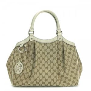 Gucci(グッチ) ショルダーバッグ 211944 9761 BEIGE EBONY/MYSTIC WHITE - 拡大画像