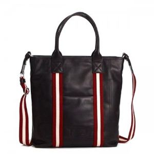 Bally(バリー) トートバッグ TRAINSPOTTING TOGANT-MD 261 CHOCOLATE RED/WHITE - 拡大画像