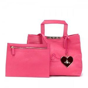 Vivienne Westwood(ヴィヴィアンウエストウッド) トートバッグ PAPER BAG 13280 PINK - 拡大画像