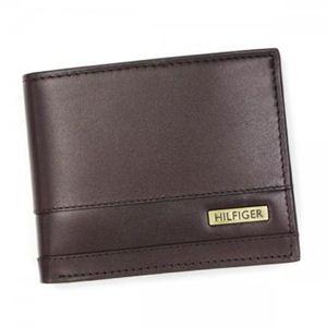 TOMMY HILFIGER(トミーヒルフィガー) 二つ折り財布(小銭入れ付) TORRIDGE 0091-4865 2 BROWN - 拡大画像