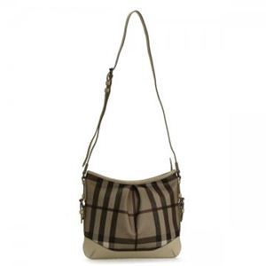 Burberry(バーバリー) ナナメガケバッグ SMOKED CHECK LL HARTHAM SMO 2500T TRENCH - 拡大画像